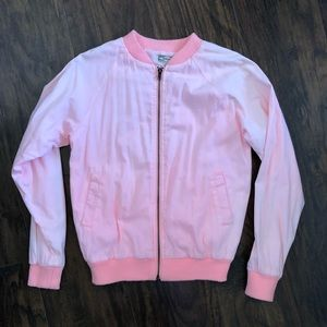 3/$25 Kirra Women's Light Neon Pink Jacket